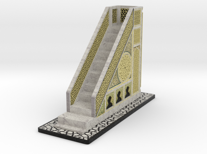 Mehrab_Base (1/3) 3d printed