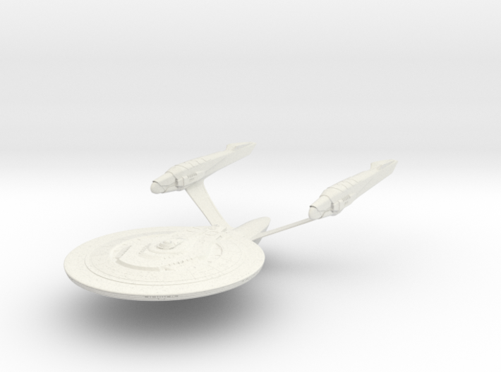 Dedication Class BattleCruiser 3d printed