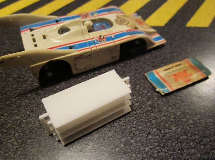 HO AFX Porsche 917 RC Cola Wing 3d printed Set of four wings