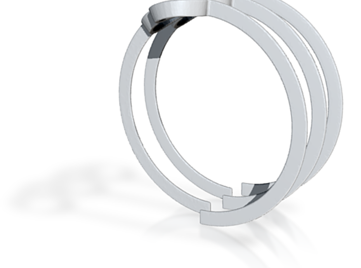 Olympic Horizon Ring 3d printed