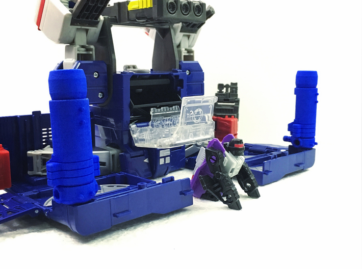 TR Leader Soundwave Blaster/Launcher Accessory 3d printed
