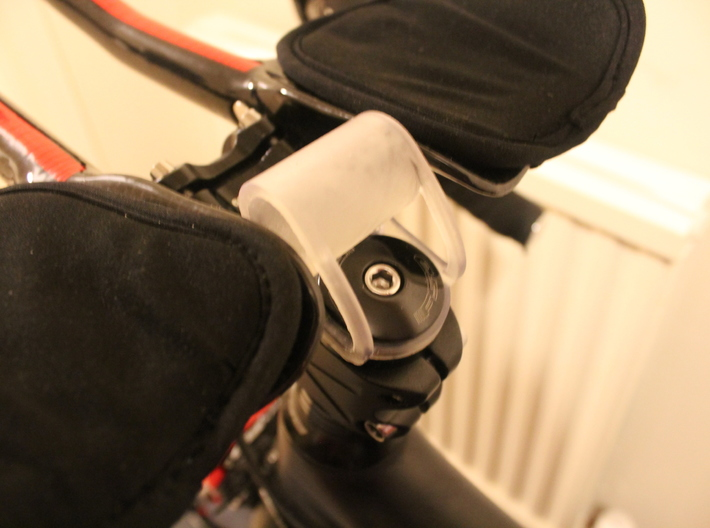 Bike Headset/Stem Computer Mount 3d printed