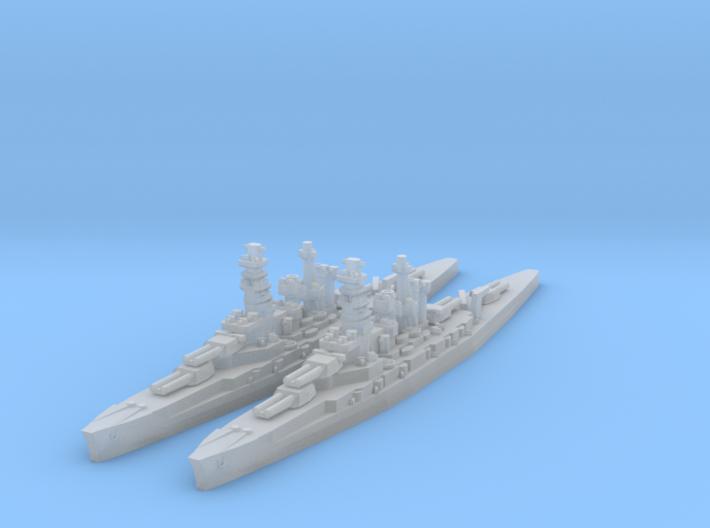 Kongo class (Classic AA Size) 3d printed