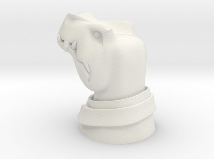 Middle Management Dino 3d printed