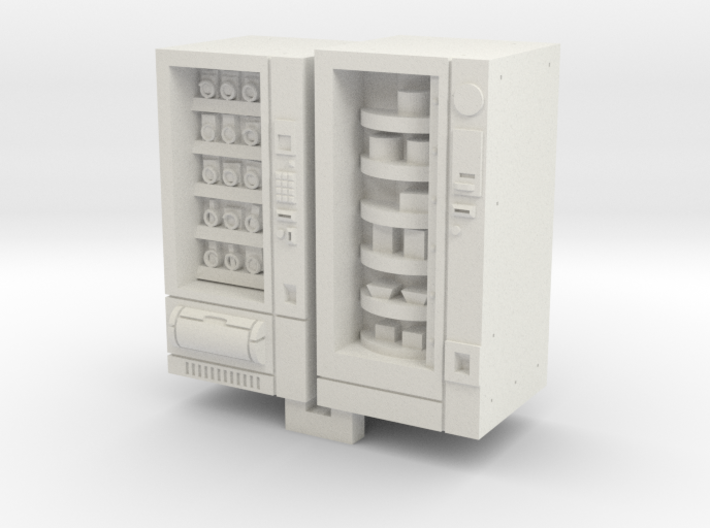 N Gauge Snack And Food Vending Machine 3d printed