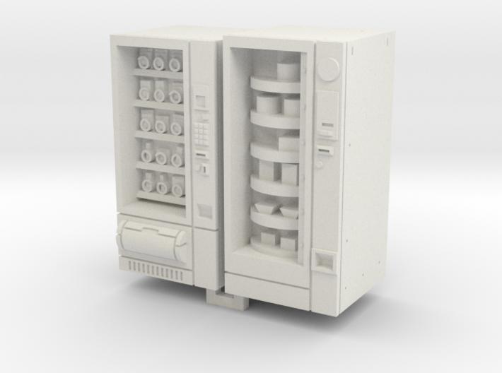 HO/OO Gauge Snack And Food Vending Machine 3d printed