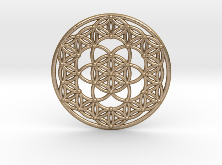Seed Of Life - Flower Of Life 3d printed
