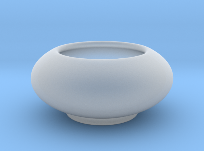 Bowl Hollow Form 2017-0008 various scales 3d printed