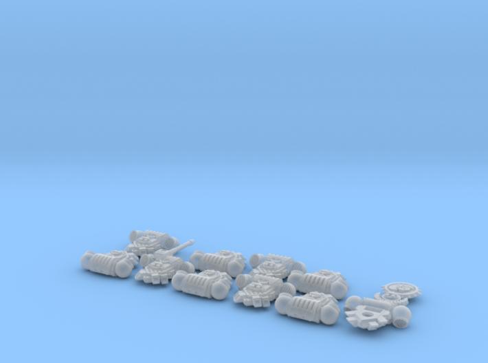 Hydra Legion- Gen4:PAC x10/squad 1 3d printed