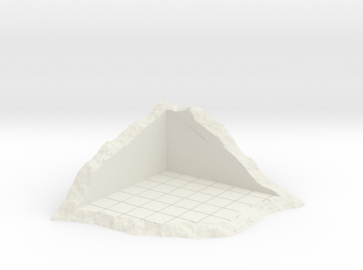 Corner Of Structure In Shamble 3d printed