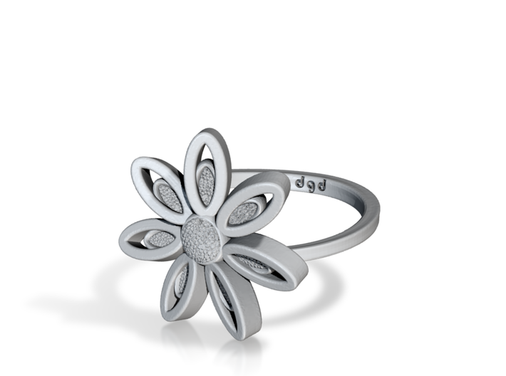 Spring Blossom - Ring 3d printed