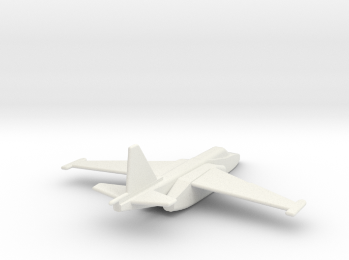 Su-25 Frogfoot 1/200 scale 3d printed