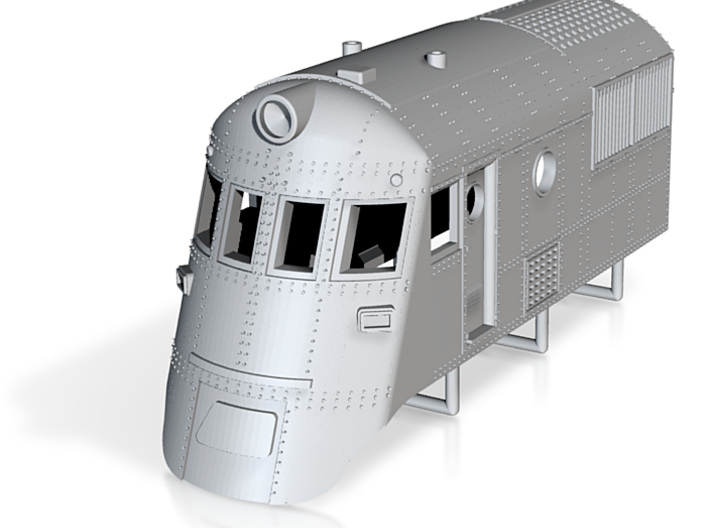 Southern Railcar Part 1 3d printed