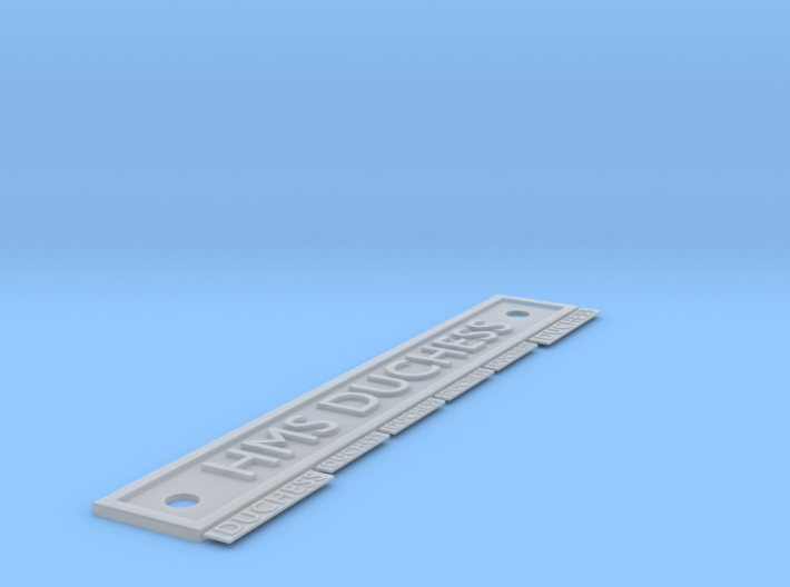 HMS Duchess Name Plates 1/96 scale. 3d printed