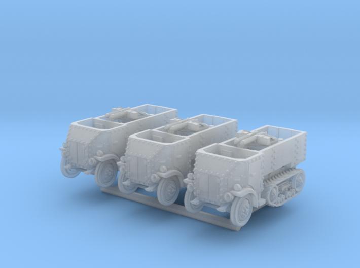 Burford-Kegresse (1/200, 3up, no crew) 3d printed
