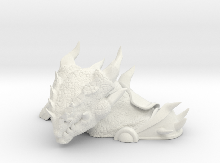 Small General Dungore Bust 3d printed