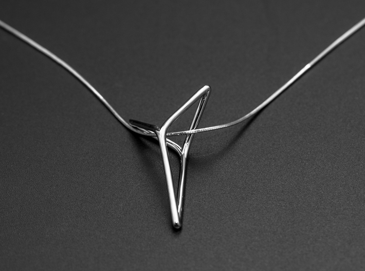 YOUNIVERSAL Fine Pendant. Soft Elegance 3d printed