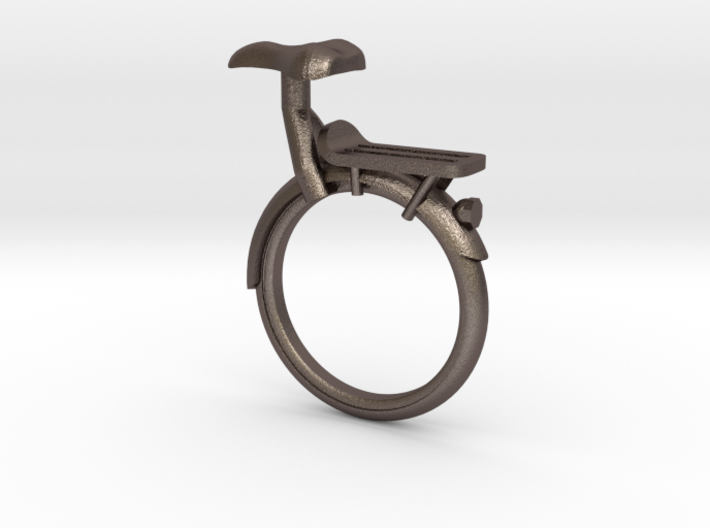 Bicycle Rings - Back Portion - Seat Ring 3d printed
