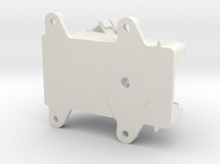 FrSky X8R Receiver Antenna Mount 4-Holes 3d printed