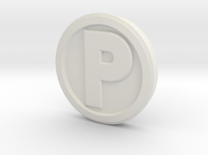 Printle Base (Round High) 1 cm 3d printed