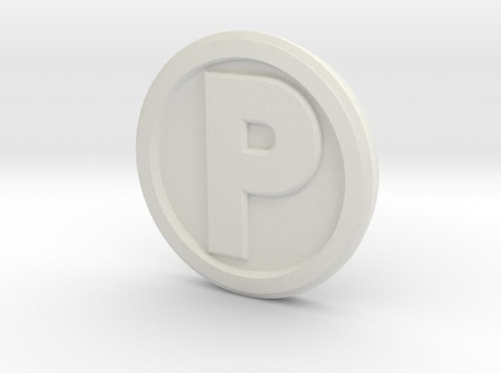 Printle Base (Round Med) 2.5 cm 3d printed