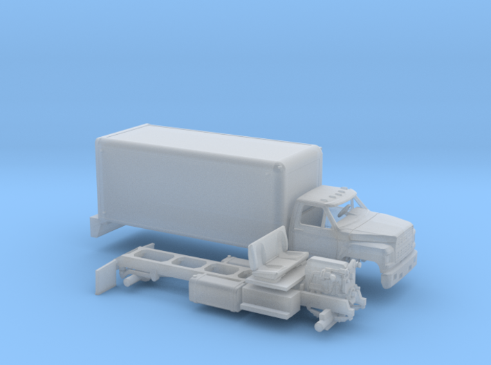 1-87 1980-86 Ford F 600 Delivery 3d printed