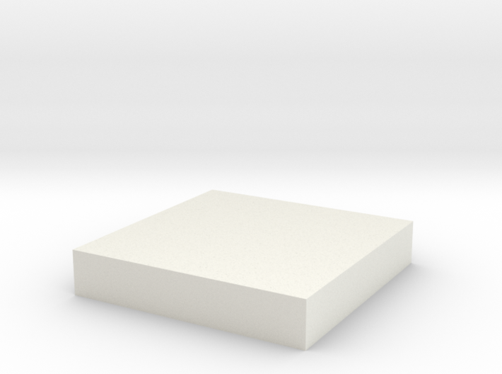 Printle Base (Square) 2 cm 3d printed