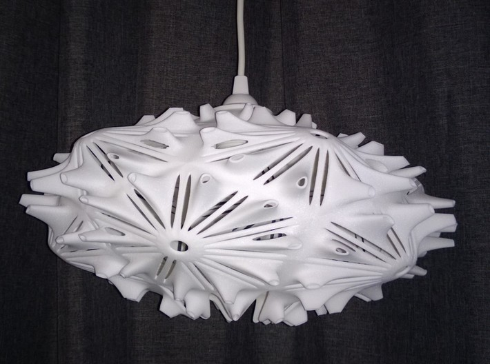 Camilla Light  / Hanging Pendant Light 3d printed Get Bli
