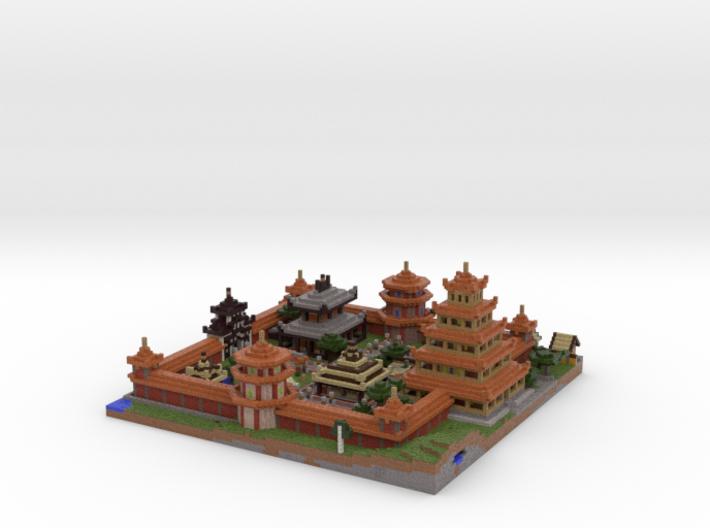 Gated Village 3d printed