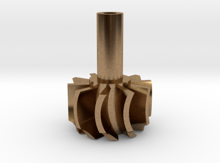 TurboKeychains_TK10-R_Turbine-10-Blade-SHF 3d printed