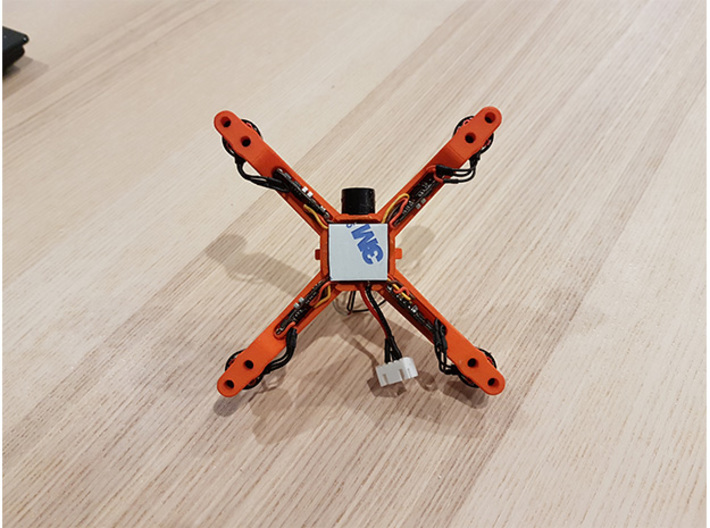 Fusion Micro FPV Frame 114 Femto FC Edition 3d printed