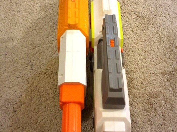 Nerf Rail to Rail Adapter 3d printed
