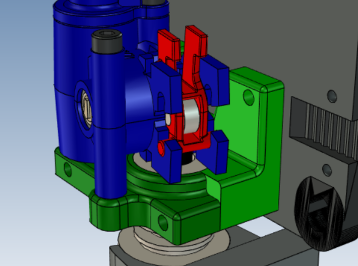DBot Bracket for the Zesty Nimble 3d printed