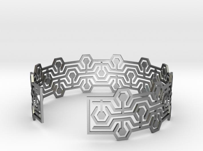 Bracelet Meandres 3d printed