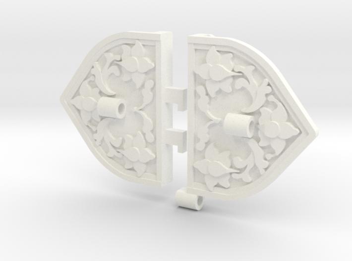 Khaleesi Wedding Armband Findings 3d printed