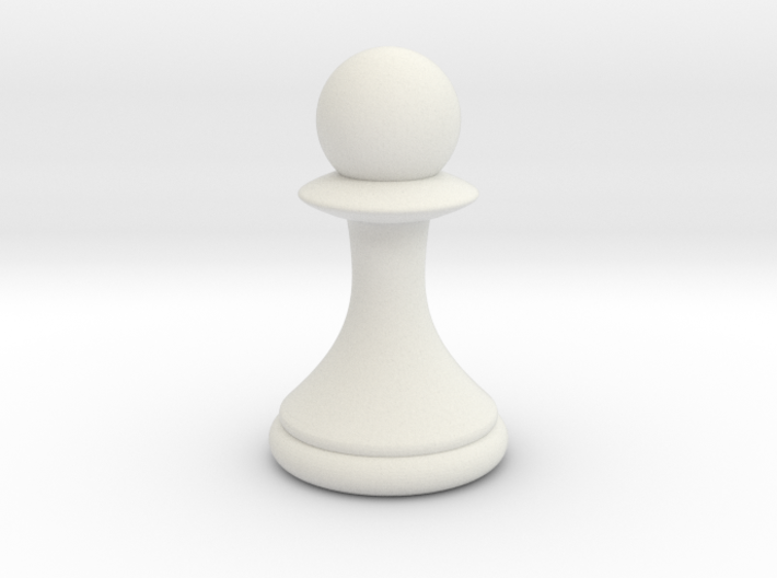 Pawns with Hats - Pawn 3d printed