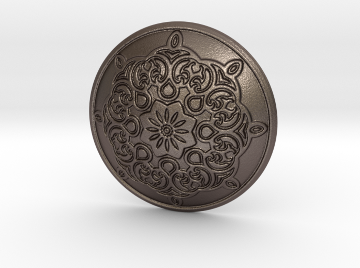 Button 3d printed