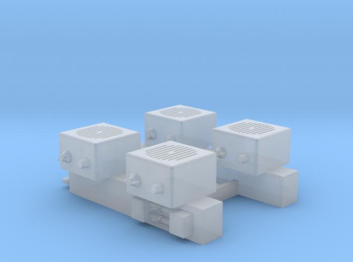 1/35 and 1/16 LS-688/VRC loudspeakers MSP35-002a 3d printed