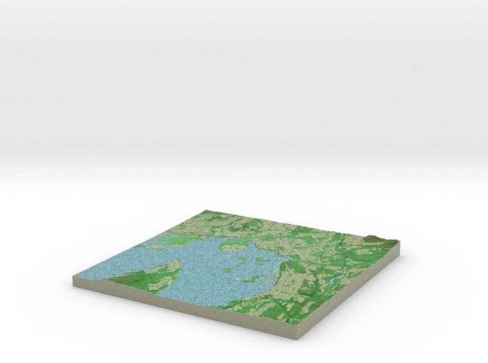 Terrafab generated model Fri Jan 20 2017 14:55:44 3d printed