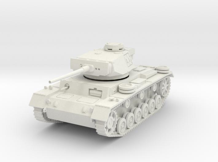 PV164 Pzkw IIIL Medium Tank (1/48) 3d printed