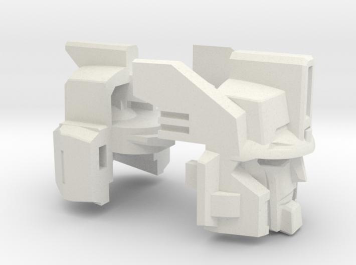 Cannon Master Leader Head Gestalt 3d printed