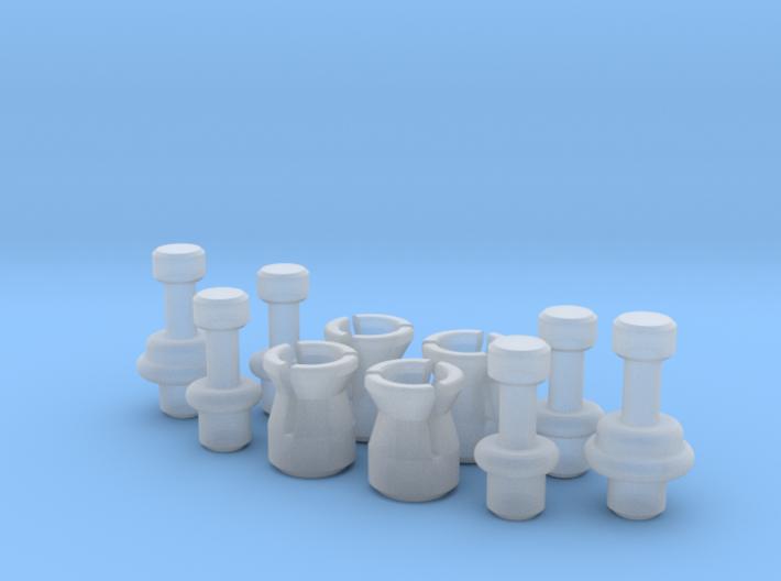 ANH Belt Greeblies - 2x Relay MKI/MKII Pins Set 3d printed