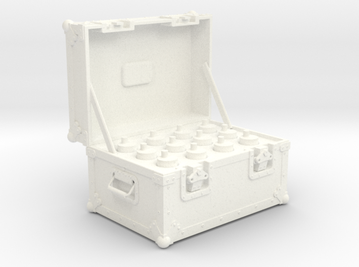BACK FUTURE 1/6 PLUTONIUM BOX OPEN 3d printed