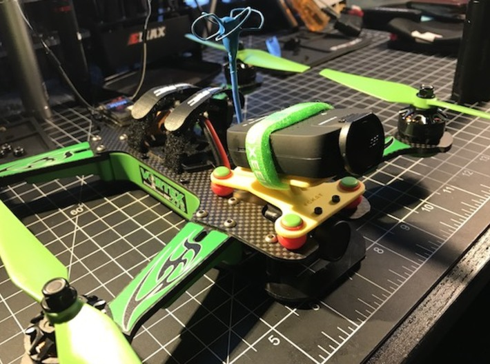 Dynamic Camera Mount For Vortex 250 3d printed