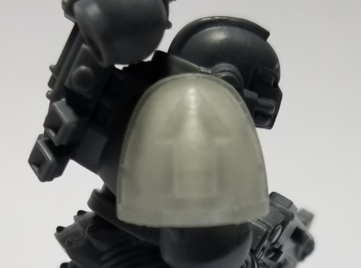 Tactical V.7 Shoulder Pads x10 3d printed Miniature not included