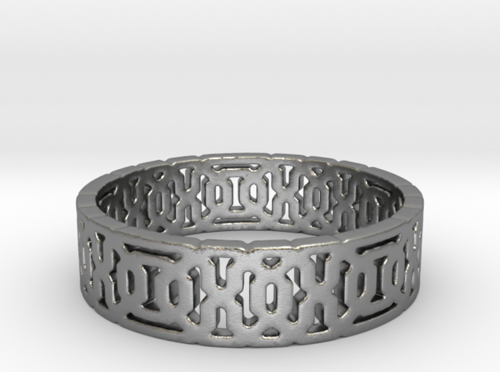 Chromos Ring (size 4-10) 3d printed