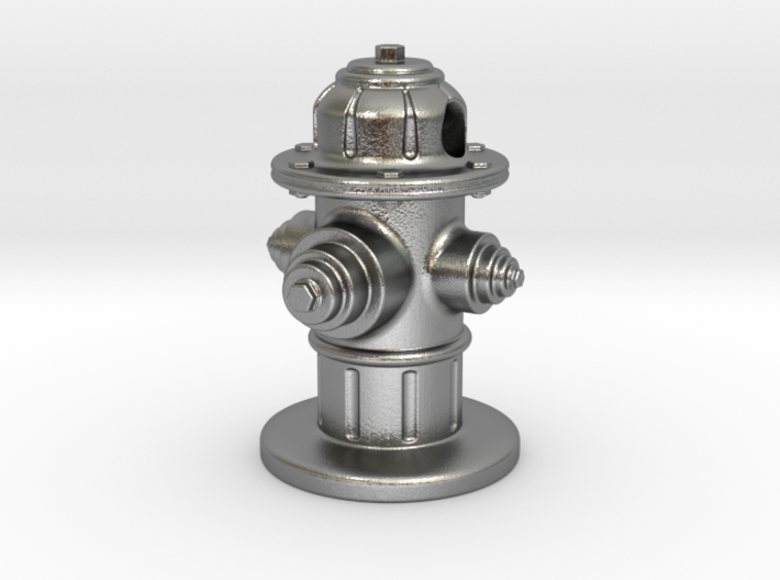 Fire Hydrant Pendant 3d printed