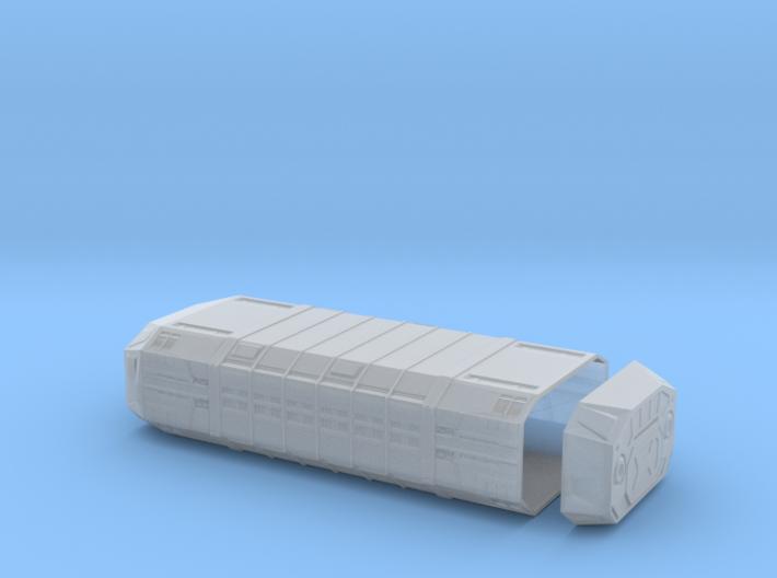 1/350 Imperial Zeta-Class Cargo Pod 3d printed