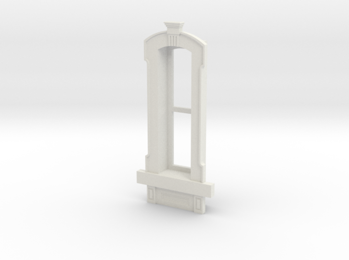 HO WCK Single Narrow Window 3d printed