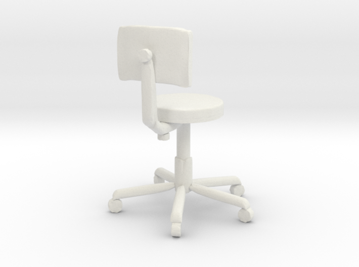 Printle Thing Office Chair 1/24 3d printed